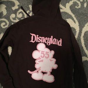 Disneyland zip up hoodie 55th Anniversary